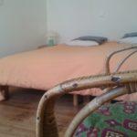 Chambre mixte 1 - lit double - PhilaDelphia surfhouse - Morgat, Presqu'île de Crozon